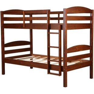 Lepore Wooden Bunk Bed by Harriet Bee