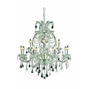 Regina Traditional 12-Light Candle Style Chandelier by House of Hampton