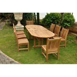 Sahara 9 Piece Teak Dining Set