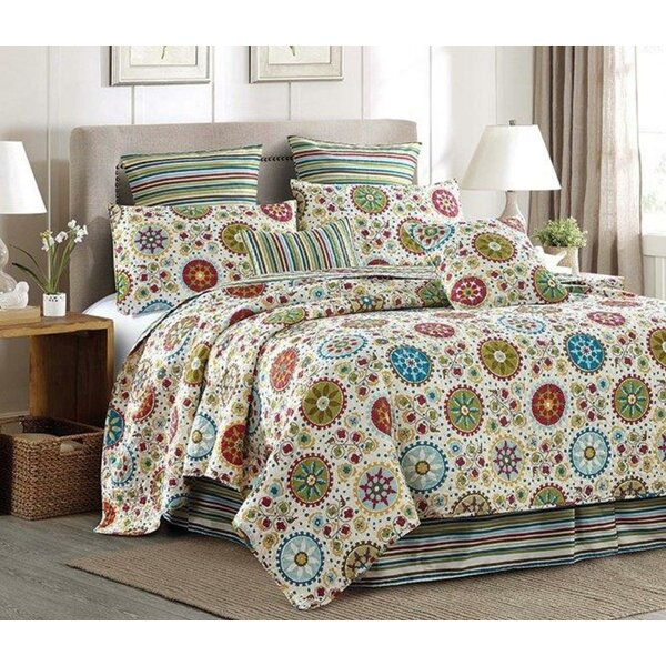 Bungalow Rose Zeledon Medallion Quilt Set Wayfair