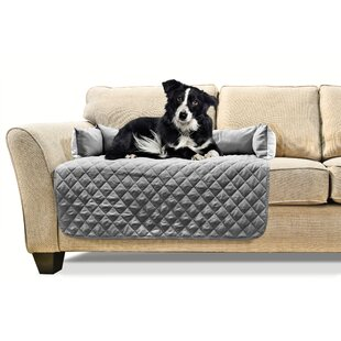 Affordable Buddy Quilted Box Cushion Sofa Slipcover by FurHaven Reviews (2019) & Buyer's Guide