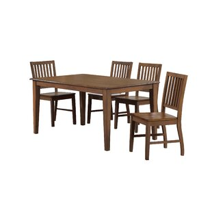Huerfano Valley 5 Piece Dining Set by Loon Peak New Design
