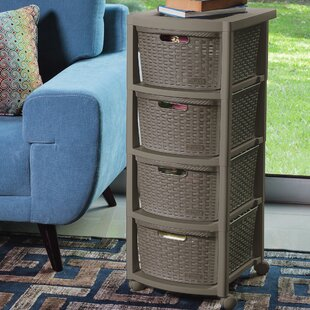 Inexpensive Berrien 4 Drawer Rolling Storage Chest By Rebrilliant