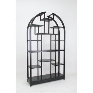 Russel Geometric Bookcase By Darby Home Co