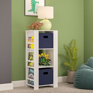 Reliford Kids Cubby Storage Tower 37 Bookcase by Harriet Bee