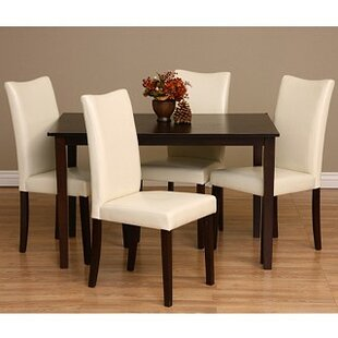 Shino 9 Piece Solid Wood Dining Set Warehouse of Tiffany