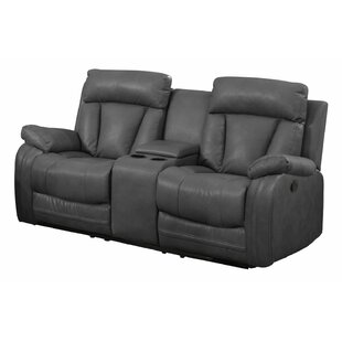 Savings Benjamin Reclining Loveseat by Nathaniel Home Reviews (2019) & Buyer's Guide