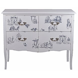 Aeroome 4 Drawer Chest By Lily Manor