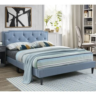 Winston Porter Indianola Upholstered Panel Bed