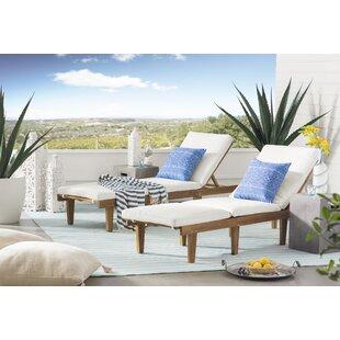 Ranier Pinstripe Hand Woven Blue Indoor/Outdoor Area Rug