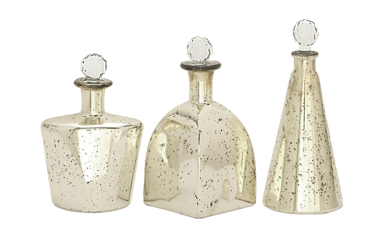 bottles corks of decor with products set clear tall decorative glass