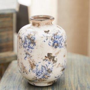 Bud Terra Cotta 3 Piece Table Vase Set (Set of 3)