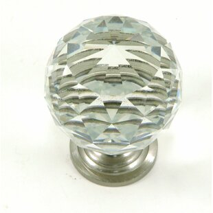 Clear Crystal Knob (Set of 10)