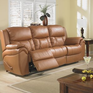 Matteo Leather Reclining Sofa by Relaxon