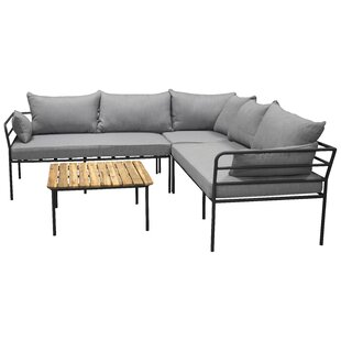 Yashvi 4 Seater Corner Sofa Set By Sol 72 Outdoor