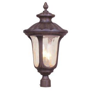Gurnee Outdoor 3-Light Lantern Head by Three Posts