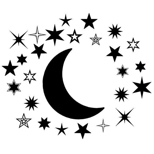 Moon And Stars Nursery Decor Wayfair