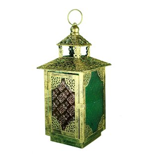 Buying Metal and Glass Lantern By World Menagerie