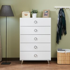Elms 5 Drawer Chest
