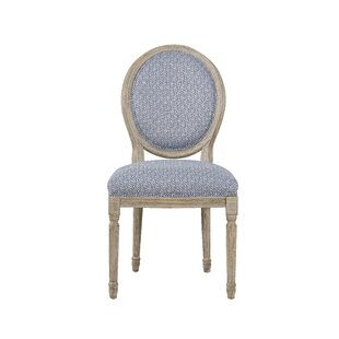 Antonella Round Back Upholstered Dining Chair by Gracie Oaks