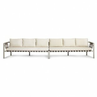 Blu Dot Jibe Outdoor Extra Long Sofa with Cushions