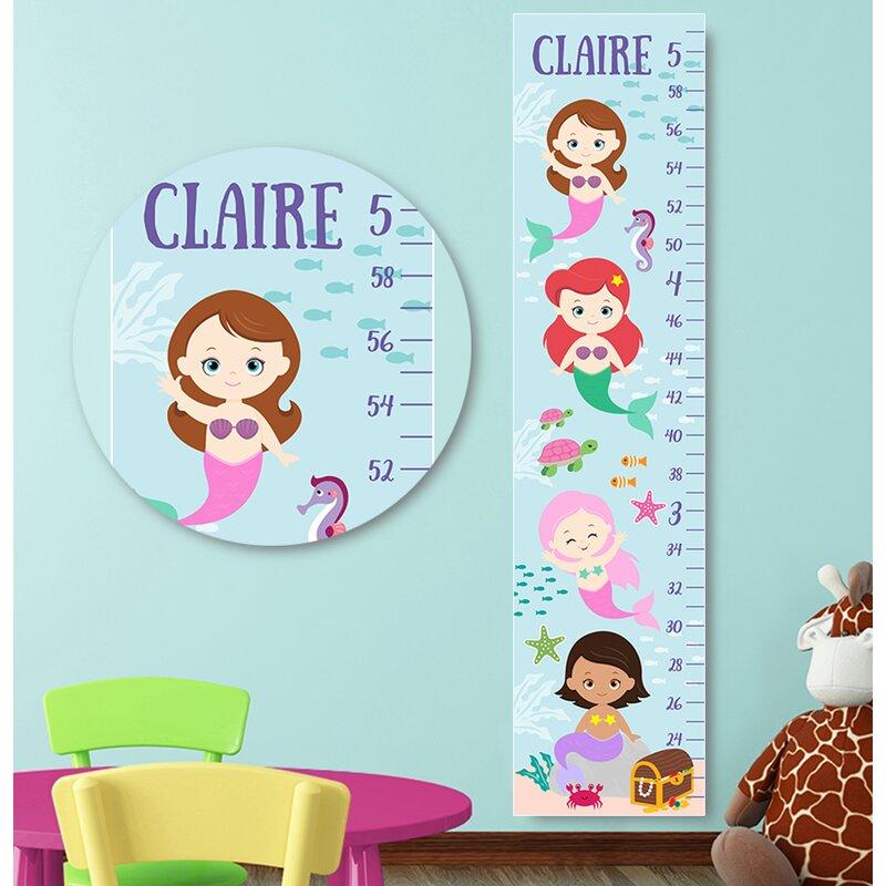 KIDS ALPHABET HEIGHT CHART ALPHABET /& ARROW STICKERS