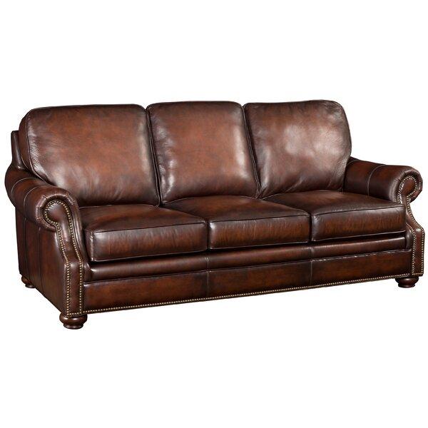 Hooker Furniture Hooker Leather Sofa & Reviews | Wayfair