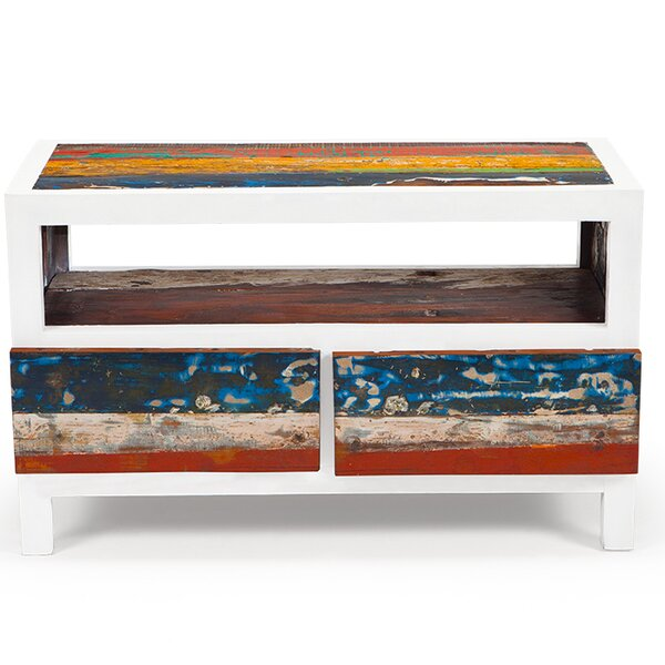 EcoChic Lifestyles Cruise Control Reclaimed Wood TV Stand & Reviews |  Wayfair - EcoChic Lifestyles Cruise Control Reclaimed Wood TV Stand