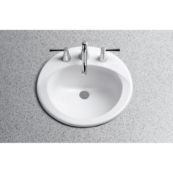 Toto Ultimate Self Rimming Bathroom Sink with SanaGloss Glazing ...