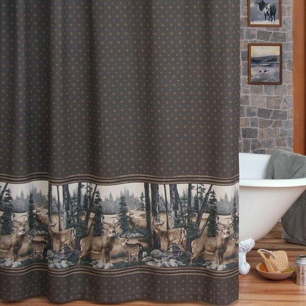 Blue Ridge Trading Whitetail Dream Shower Curtain & Reviews   Wayfair