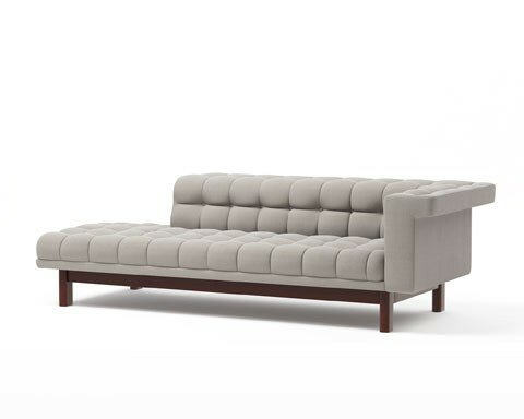 Truemodern george 94 one arm sofa with chaise wayfair for One arm sofa chaise