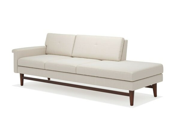 Diggity 94 one arm sofa with chaise allmodern for Sofa with only one arm