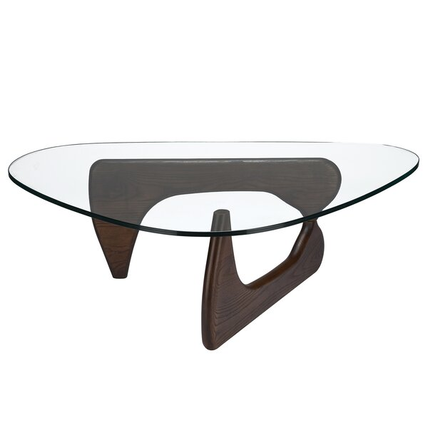 QUICK VIEW. Monaco Sculpture Coffee Table - Modern Glass Coffee Tables AllModern