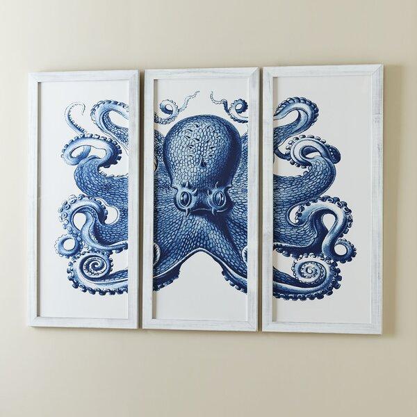 octopus wall art wayfair. Black Bedroom Furniture Sets. Home Design Ideas