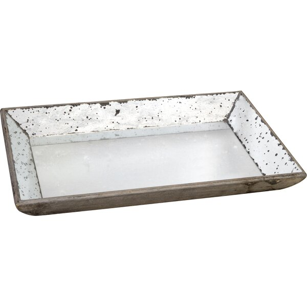 Gretchen Mirrored Serving Tray - Decorative Trays Joss & Main