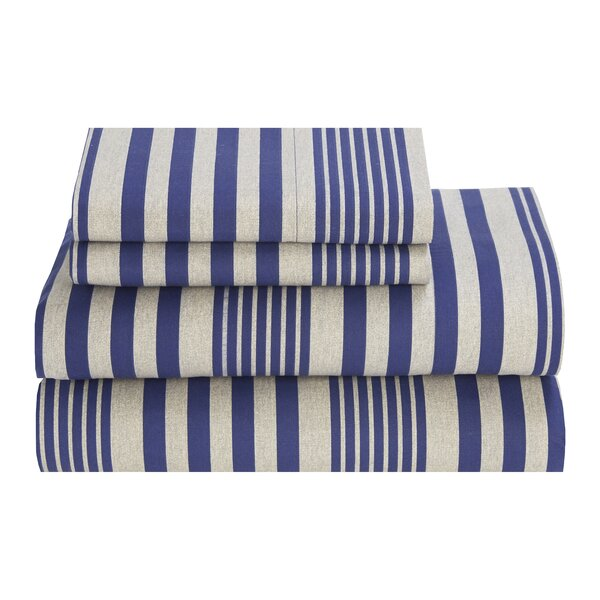 Tommy Hilfiger Seaport Stripe 180 Thread Count Sheet Set