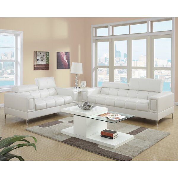 Modern living room sets allmodern for Front room furniture sets