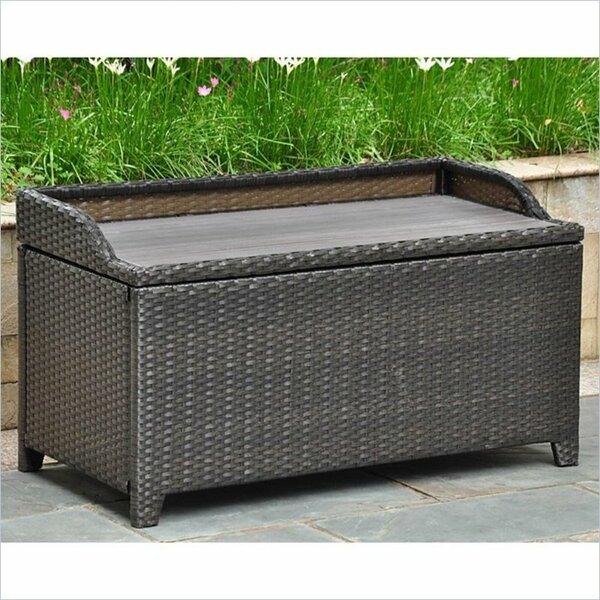 Katzer Brescia & Aluminum Resin Storage Bench - Deck Boxes & Patio Storage You'll Love Wayfair