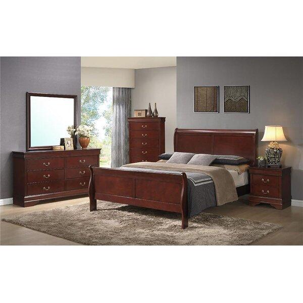 cambridge piedmont panel  piece bedroom set  wayfair, Bedroom designs