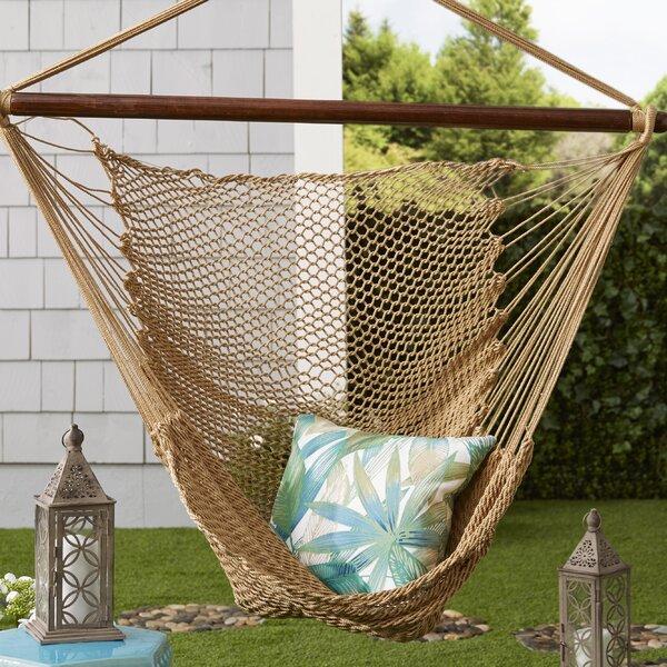 Hanging Caribbean Polyester Chair Hammock