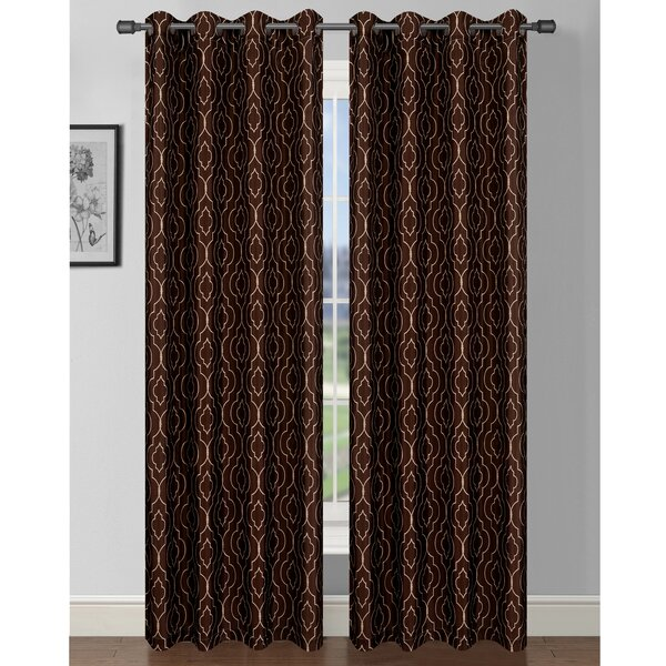 Curtains Ideas batik curtain panels : Window Elements Jasper Printed Grommet Curtain Panels & Reviews ...