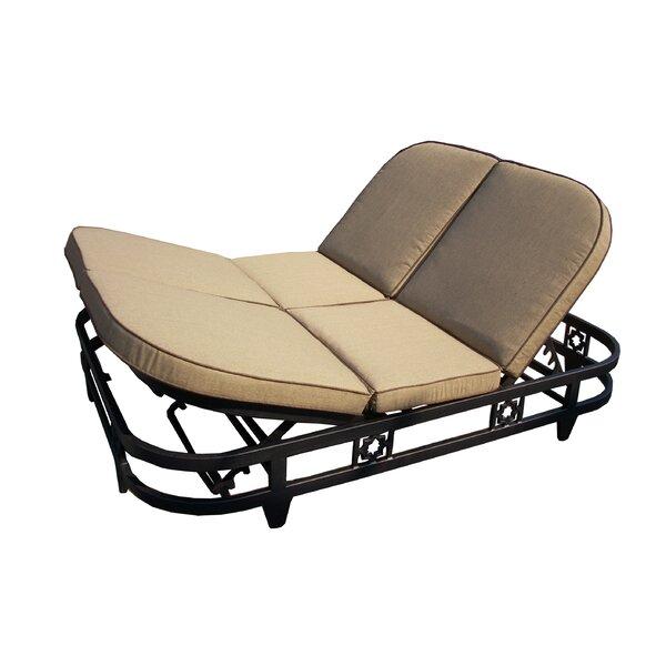 california outdoor designs la jolla deluxe double chaise lounge ... - Chaise De Luxe Design
