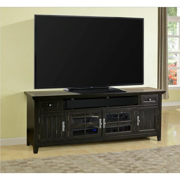 loon peak thayne 84 tv stand reviews wayfair. Black Bedroom Furniture Sets. Home Design Ideas