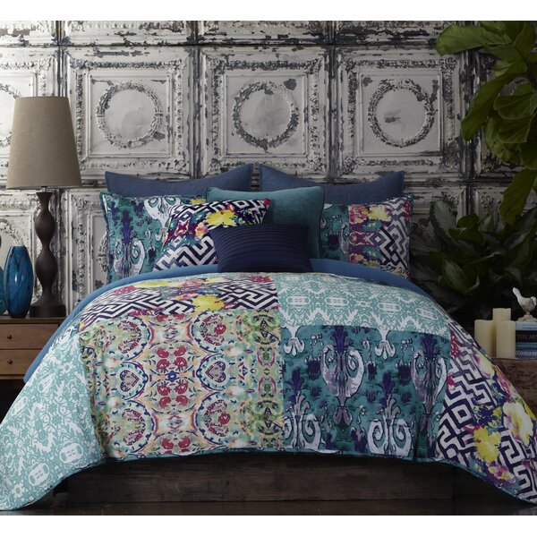 Tracy porter florabella comforter set reviews for Bella flora chaise lounge