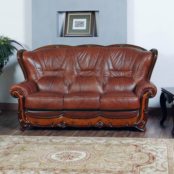 NociDesign Wood Trim Sofa  Wayfair