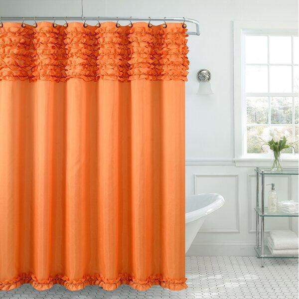 Orange Shower Curtains You'll Love | Wayfair