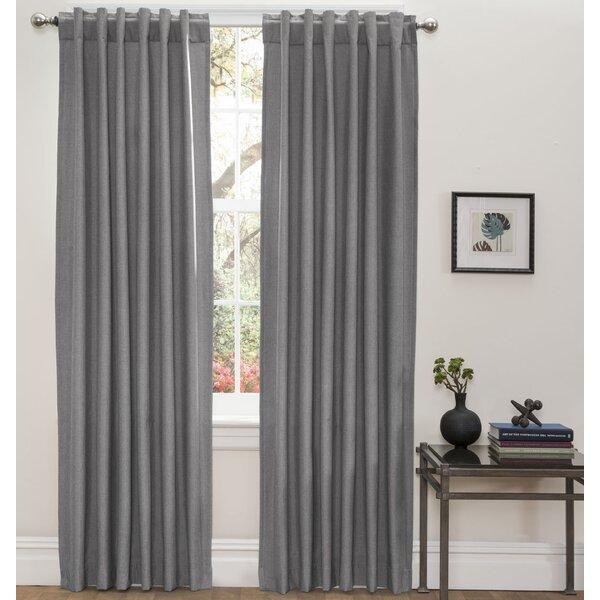 HLC.ME Olivia Blackout Thermal Curtain Panels & Reviews | Wayfair