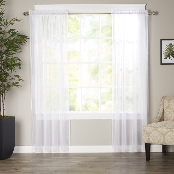 Decorating sheer panels for windows : Sheer Curtains You'll Love | Wayfair