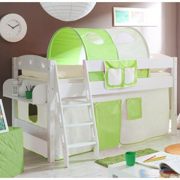 ticaa halbhochbett lenny mit schr gleiter 90 x 200 cm. Black Bedroom Furniture Sets. Home Design Ideas