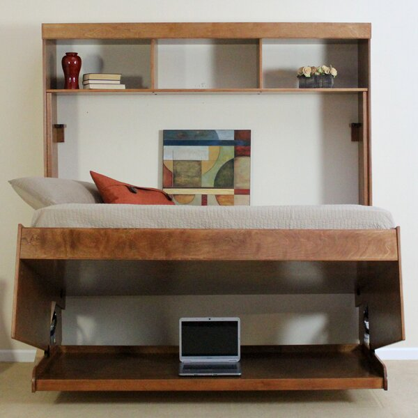 Wallbeds Modern Birch Murphy Bed Reviews Wayfair